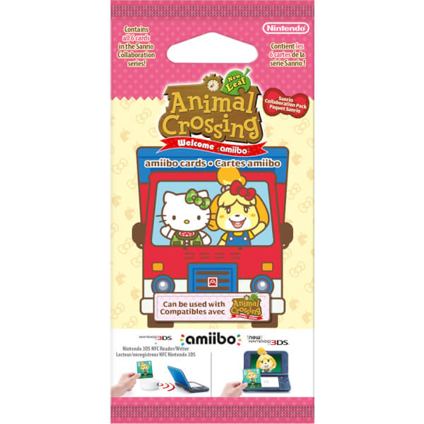 Animal Crossing: New Leaf + Sanrio amiibo Cards Pack