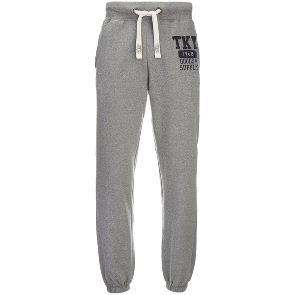 Tokyo Laundry Men's Hunters Peak Sweatpants - Mid Grey Marl