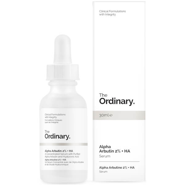 The Ordinary Alpha Arbutin 2% + HA Concentrated Serum 30ml