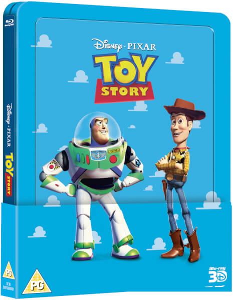 Toy Story 1 3D (+ 2D) - Steelbook Lenticulaire Exclusivité Zavvi (Édition UK)