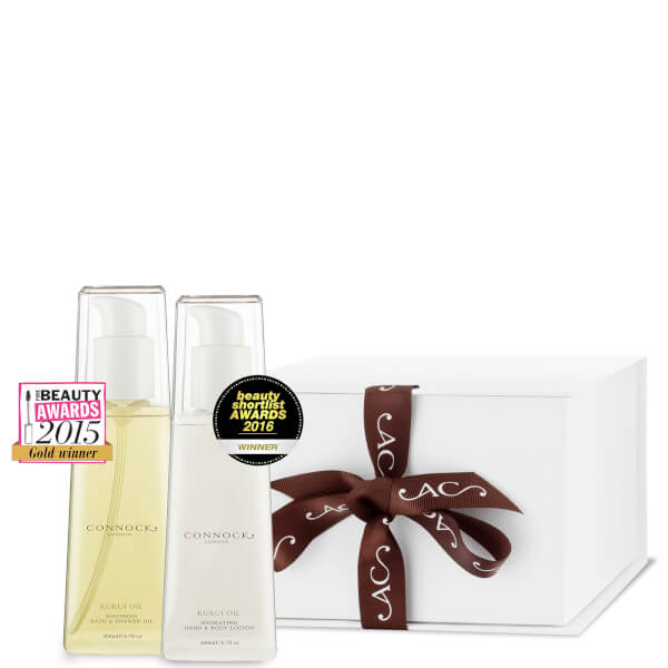 CONNOCK LONDON KUKUI OIL AWARD WINNERS GIFT SET