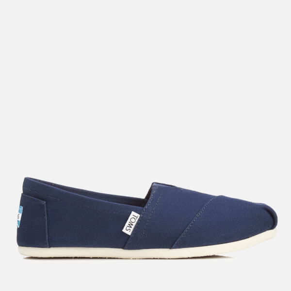 TOMS Women's Core Classics Slip-On Pumps - Navy Canvas