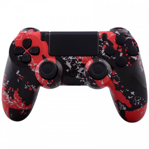 Manette CUstom PlayStation 4 -Rouge Subterfuge