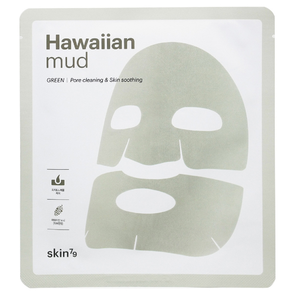 Skin79 Hawaiian Mud Sheet Mask 18g - Green