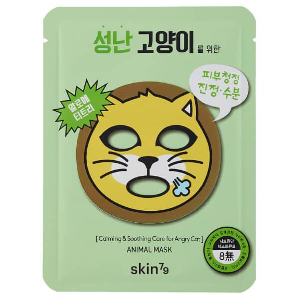 Skin79 Animal Mask 23g Cat - Pack of 10