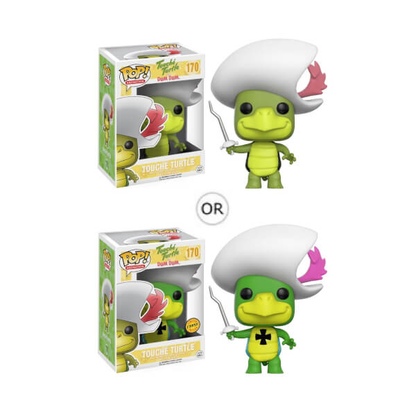 Hanna Barbera Touche Turtle Pop! Vinyl Figure with Chase