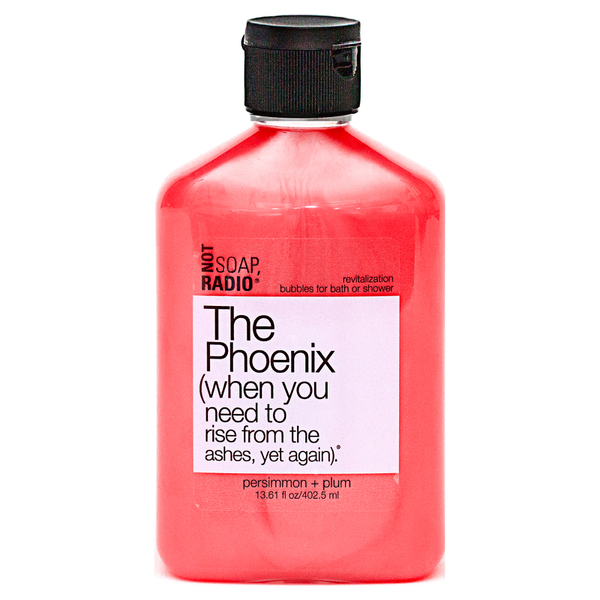 Not Soap Radio The Phoenix (when you need to rise from the ashes, yet again) Bubbles for Bath/Shower 402.5ml