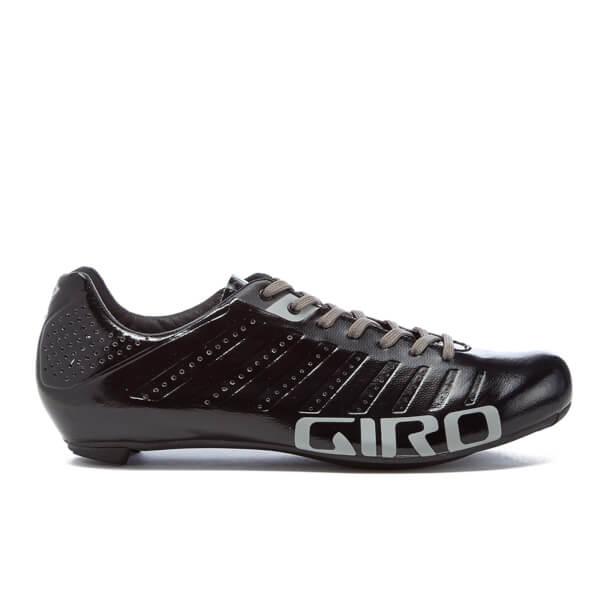 Giro Empire SLX Road Cycling Shoes - Black/Silver ...