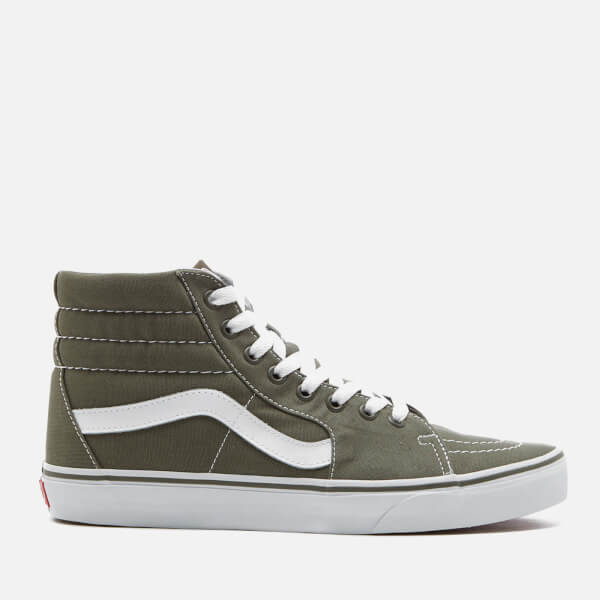 Vans Men's Sk8-Hi Canvas Hi-Top Trainers - Grape Leaf