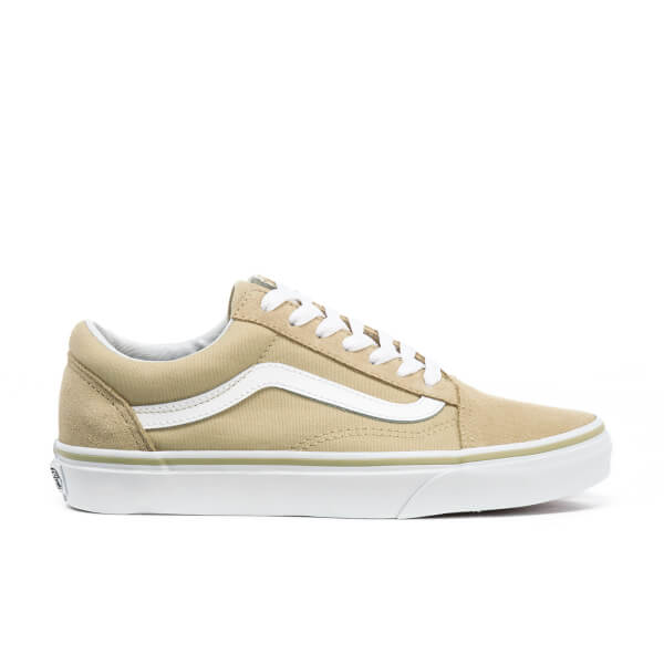 Vans Women's Old Skool Trainers - Pale Khaki/True White