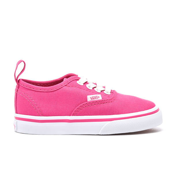 Vans Toddlers  Authentic Elastic Lace Trainers - Hot Pink True White  Image  1 7a02e3c6e