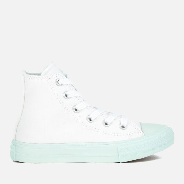 Converse Kids' Chuck Taylor All Star II Hi-Top Trainers - White/Fiberglass