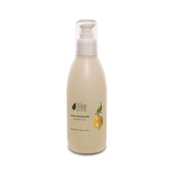ilike organic skin care Lemon Cleansing Milk