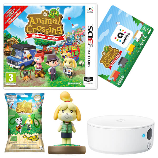 Animal Crossing: New Leaf - Welcome amiibo + Isabelle amiibo + NFC Reader/Writer