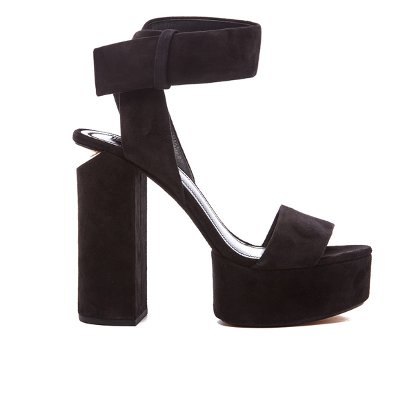 Alexander Wang Women's Keke Platform Heeled Sandals - Black