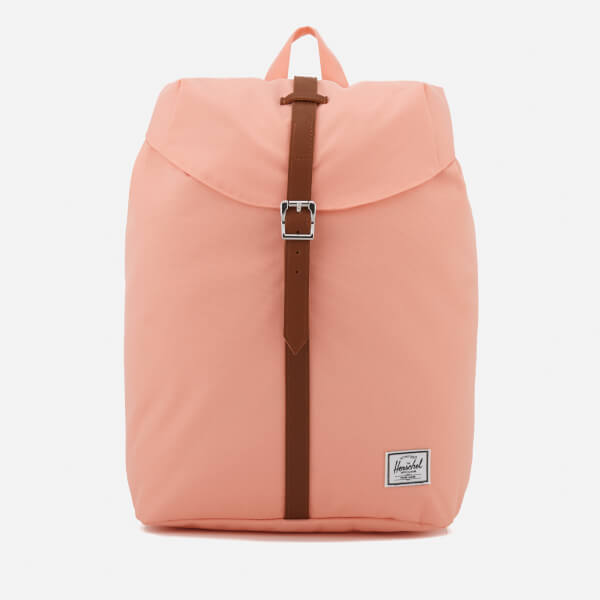 45f53e40ecf Herschel Supply Co. Post Mid-Volume Backpack - Apricot Blush Tan Synthetic  Leather