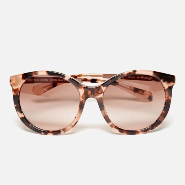 MICHAEL MICHAEL KORS Women's Island Tropics Sunglasses - Pink Tortoise