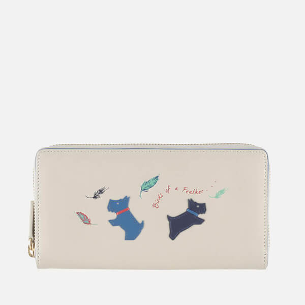 Radley Women's Birds of a Feather Large Zip Around Purse - Pelican