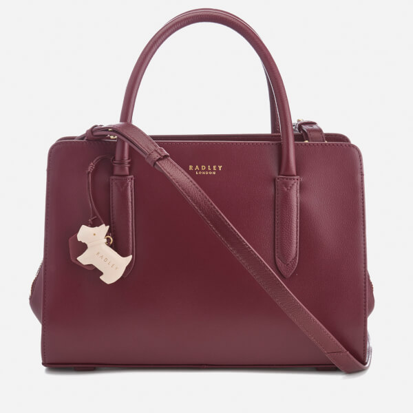 Radley Women's Liverpool Street Medium Ziptop Multiway Bag - Burgundy