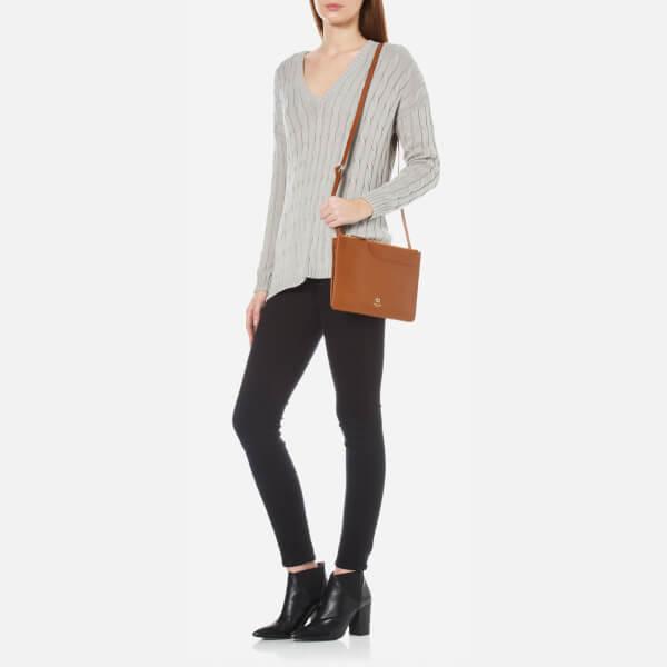 1b6efb18a140 Radley Women's Pockets Medium Zip Top Cross Body Bag - Tan: Image 2