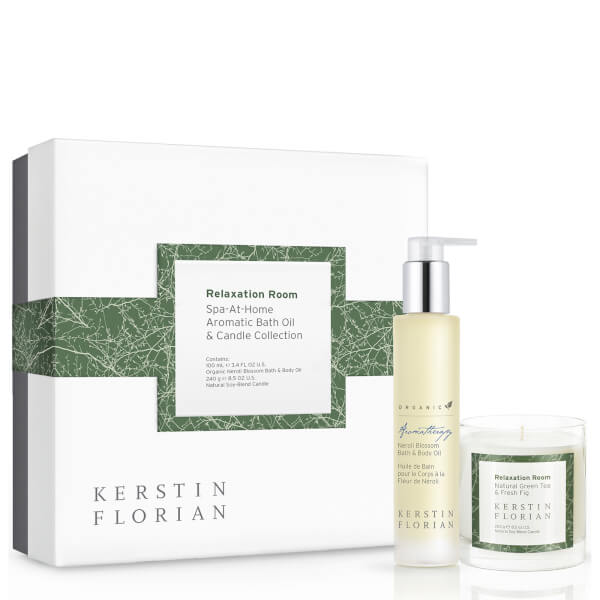 Kerstin Florian Spa-At-Home Bath Oil & Candle Gift Set