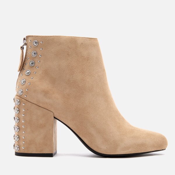 Senso Women's Jescinta II Suede Heeled Ankle Boots - Sand