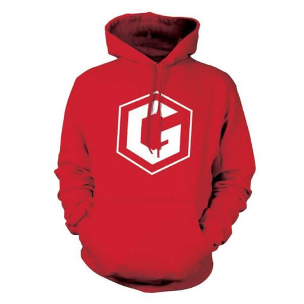 Sweatshirt Grian -Rouge