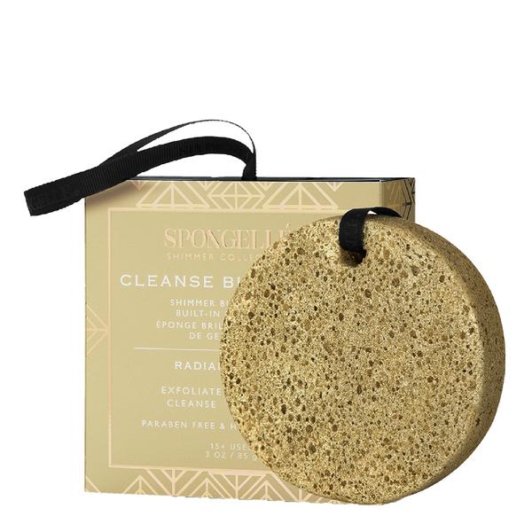 Spongellé Shimmer Body Wash Infused Buffer - Radiant Amber