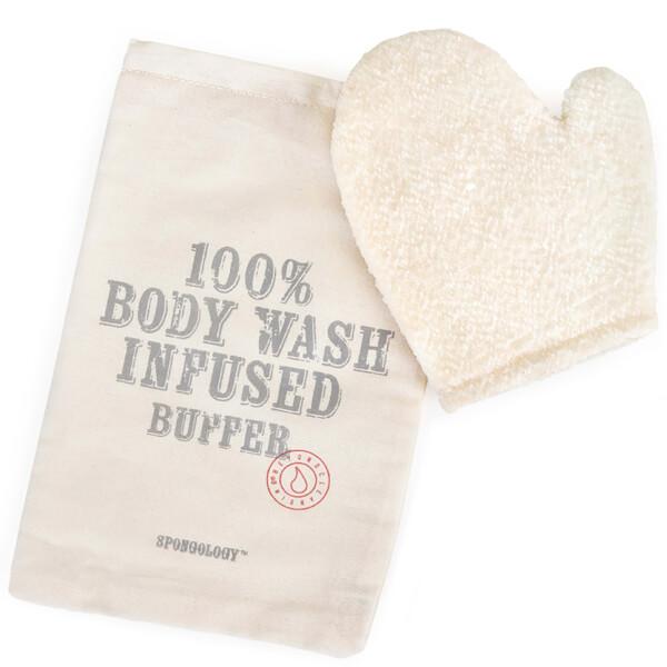 Spongellé Spongology Body Wash Infused Anti-Cellulite Glove - Milk & Honey