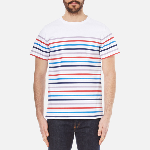 A.p.c. Woman Striped Cotton Shirt Off-white Size 40 A.P.C. Clearance Collections 2XnWj