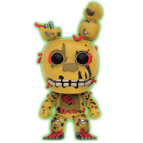Five Nights at Freddys Springtrap GITD EXC Pop! Vinyl Figure