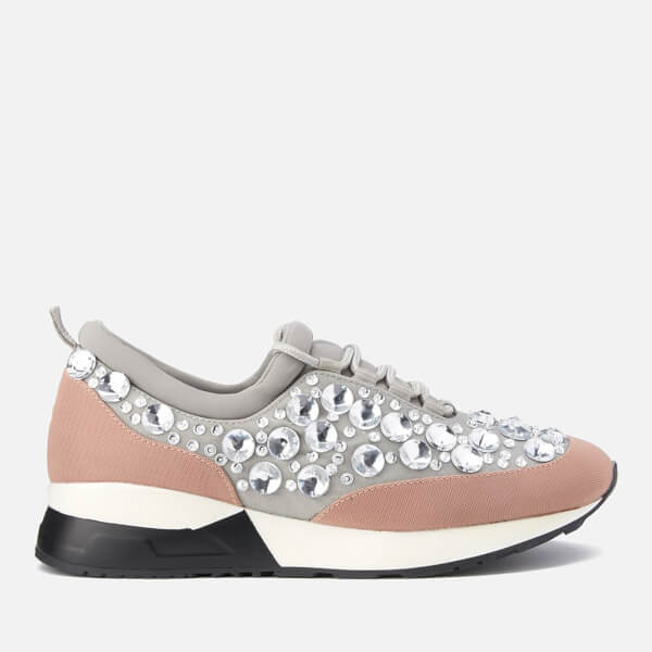 Dune Women's Enigma Runner Trainers - Blush
