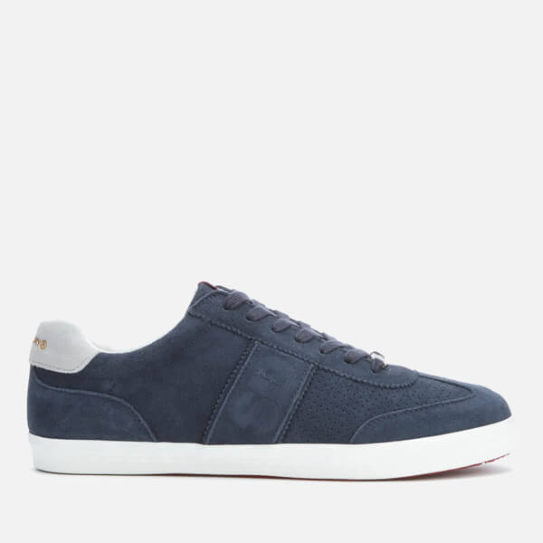 Superdry Men's Classic Court Vintage Trainers - Dark Navy