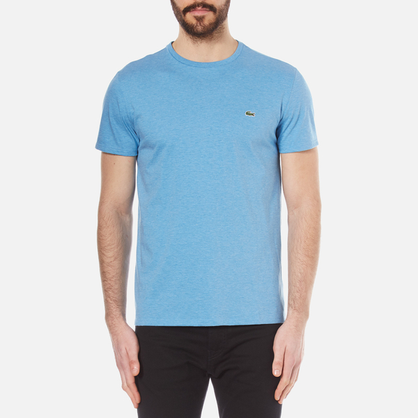 Lacoste Men 39 S Basic Crew Neck T Shirt Horizon Blue Chine