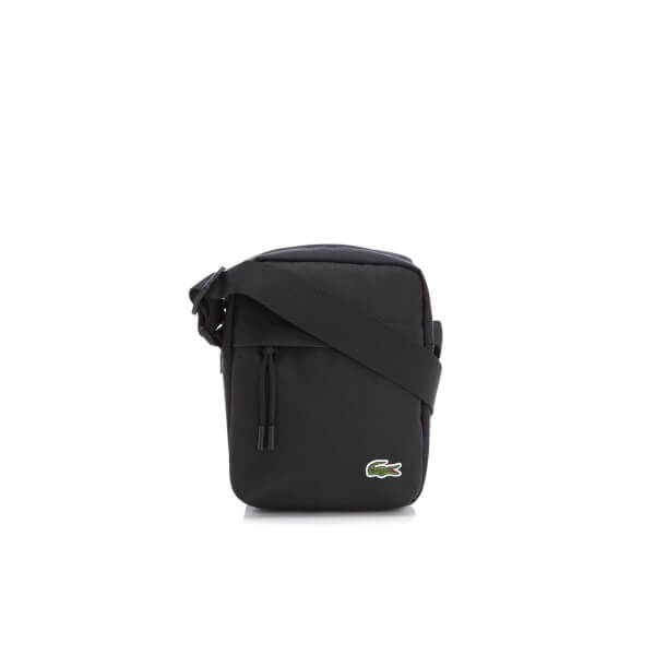 Lacoste Men's Vertical Camera Bag - Black