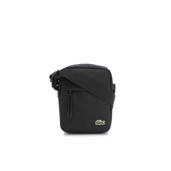 9b6883631 Lacoste Men's Vertical Camera Bag - Black: Image 1