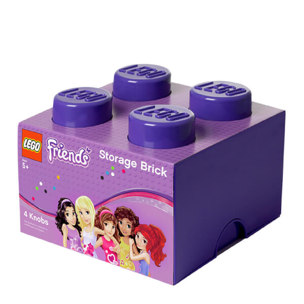 LEGO Storage Brick 4 - Purple