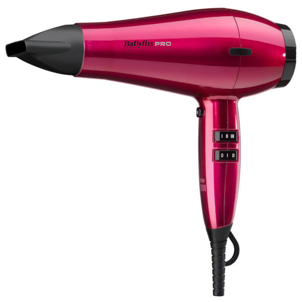 BaByliss PRO Spectrum Hair Dryer - Hot Pink