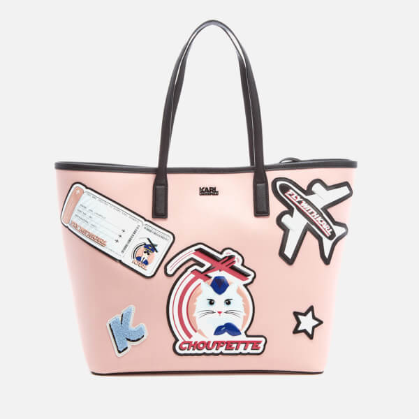 Karl Lagerfeld Women's K/Jet Choupette Shopper Bag - Quartz