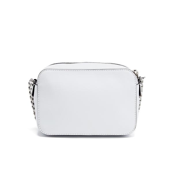 Karl Lagerfeld Women S K Rocky Studs Small Cross Body Bag White Image 7