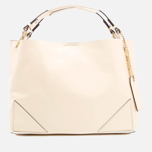 Karl Lagerfeld Women's K/Slouchy Shopper Bag - Creme
