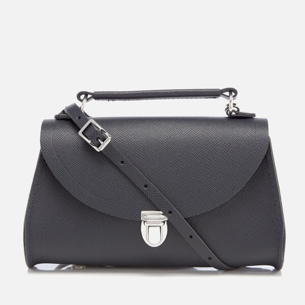 The Cambridge Satchel Company Women's Mini Poppy Bag - Navy Saffiano
