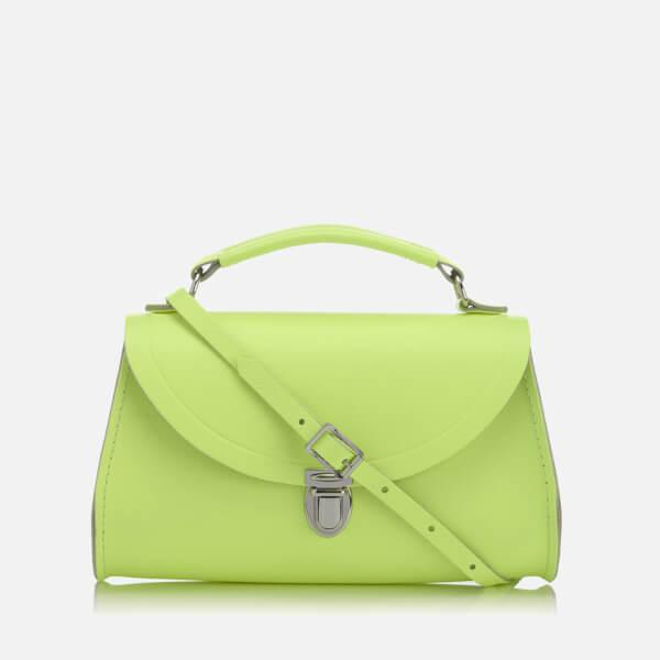 The Cambridge Satchel Company Women's Mini Poppy Bag - Neon Yellow