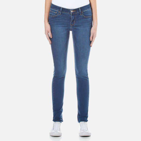Levi's Women's 710 FlawlessFX Super Skinny Jeans - Darling Blue
