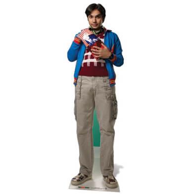 The Big Bang Theory Dr. Raj Koothrappali Life Size Cut Out