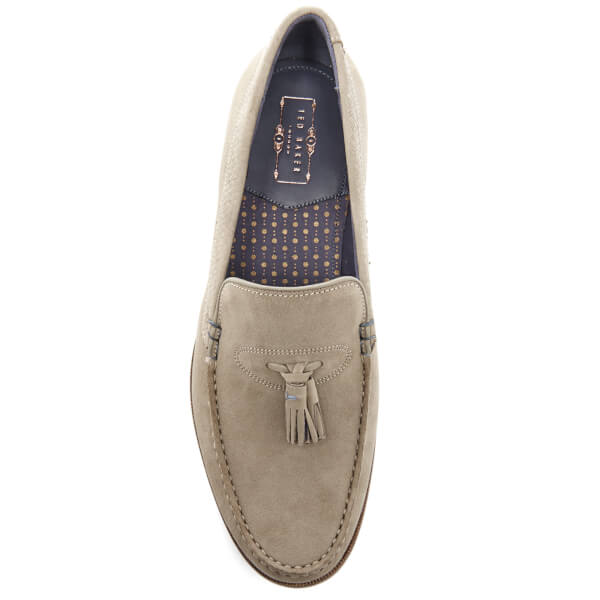 6df5ab341d2b Ted Baker Men s Dougge Suede Tassel Loafers - Light Tan  Image 3