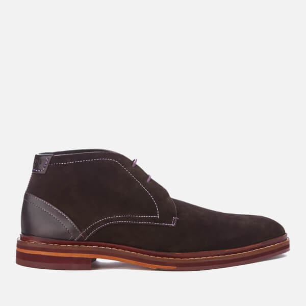 Ted Baker Men's Azzlan Suede Desert Boots - Brown