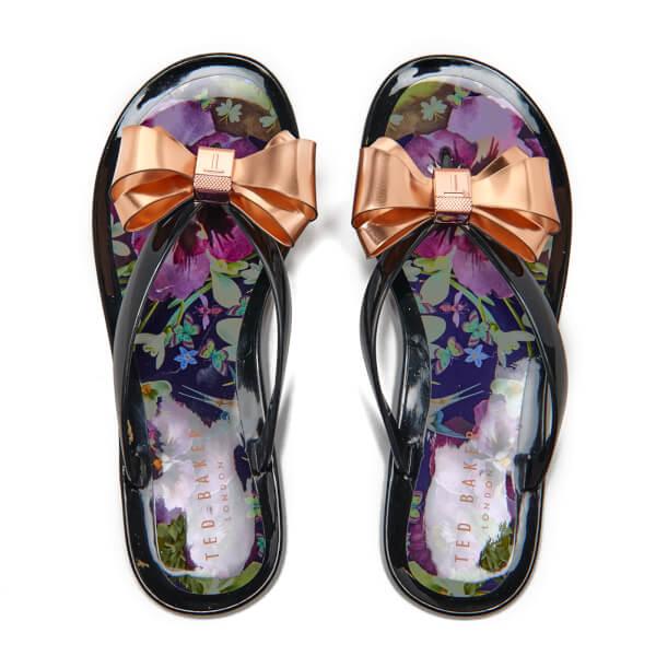 405a249e1e4c Ted Baker Women s Rueday PVC Flip Flops - Entangled Enchantment  Image 2
