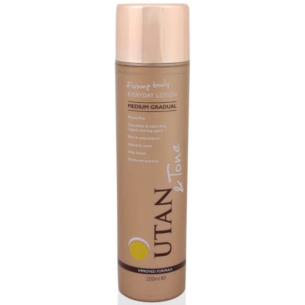 UTAN & Tone Gradual Lotion Medium 200ml