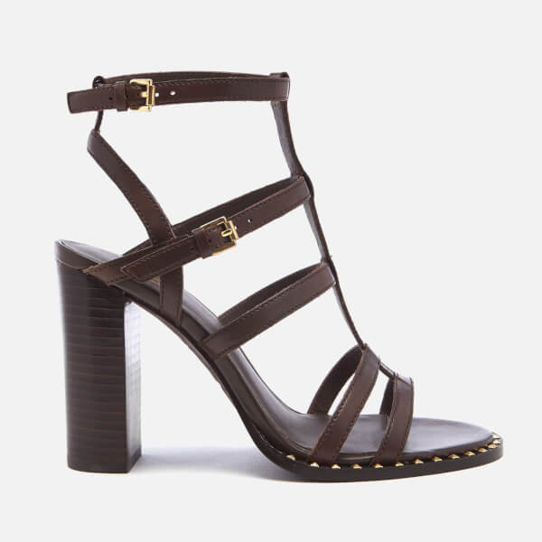 Ash Women's Amazing Bis Gladiator Heeled Sandals - T Moro